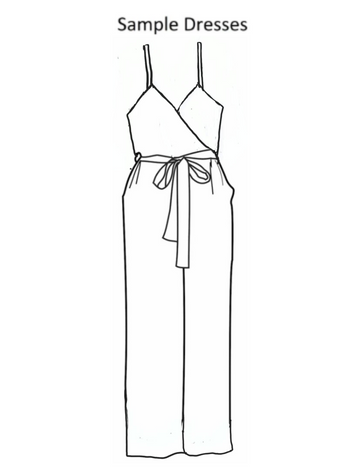Young and Beautiful Jumpsuit - Sample Dress