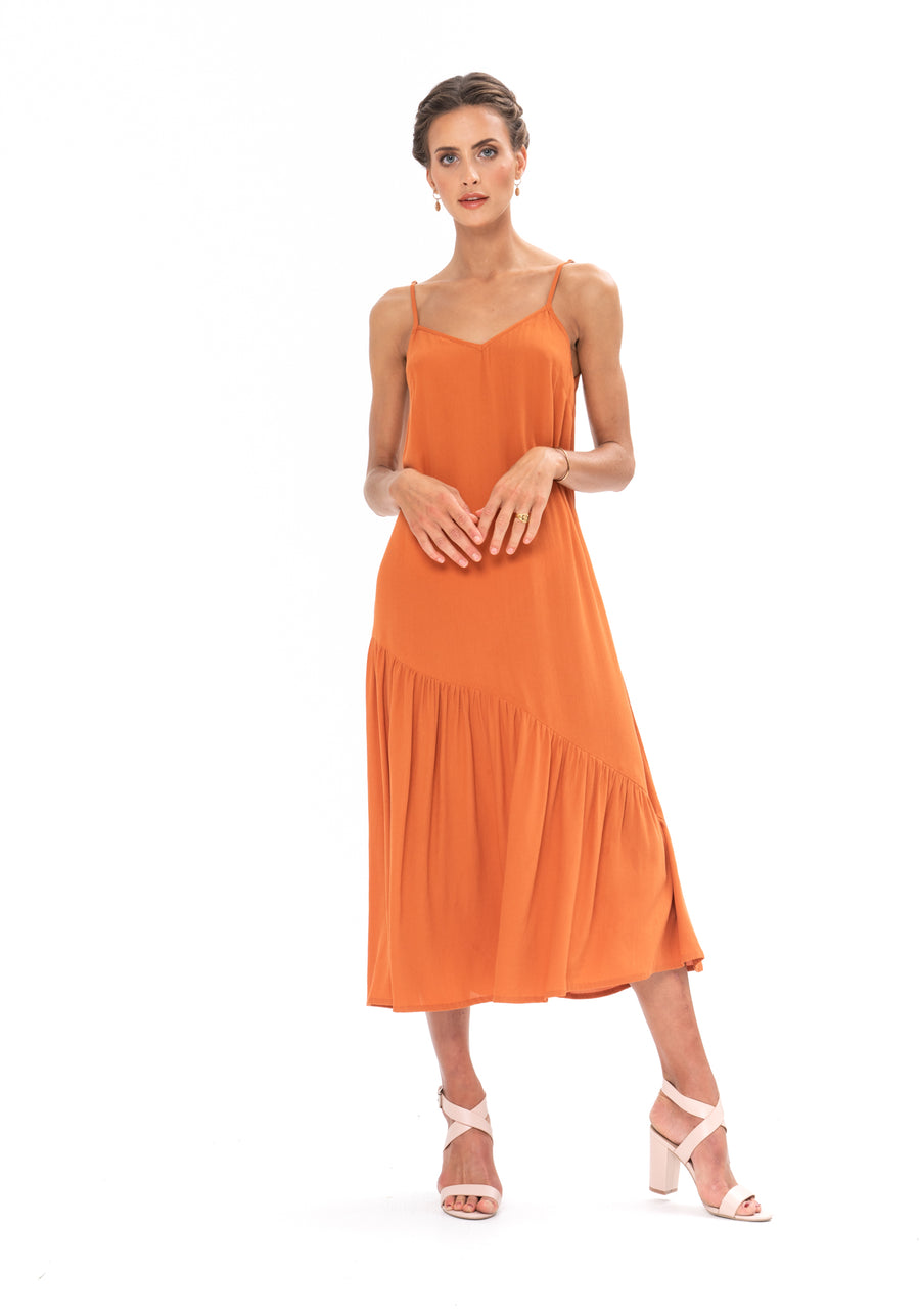 Dreamer Dress - Burnt Orange