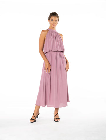 Last Kiss Dress - Purple Blush