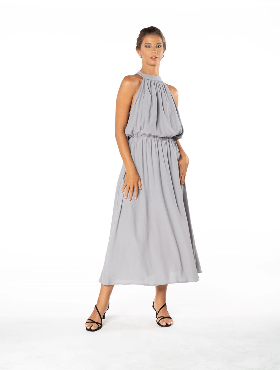 Last Kiss Dress - Appaloosa Grey