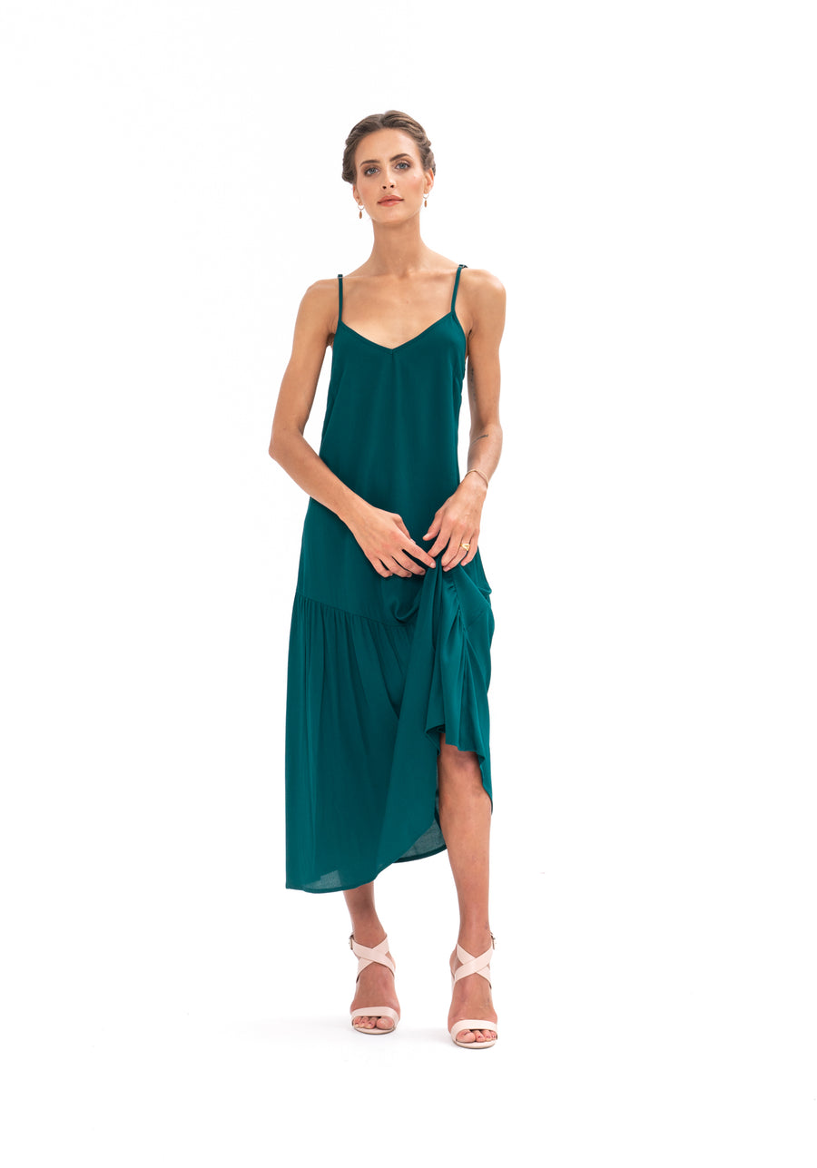 Dreamer Dress - Emerald Green