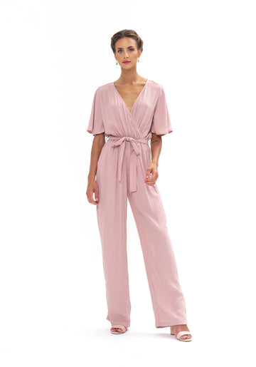 Leave Me Lonely Jumpsuit - Calico Rose
