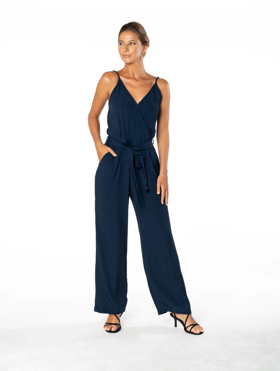 Young and Beautiful Jumpsuit - Navy