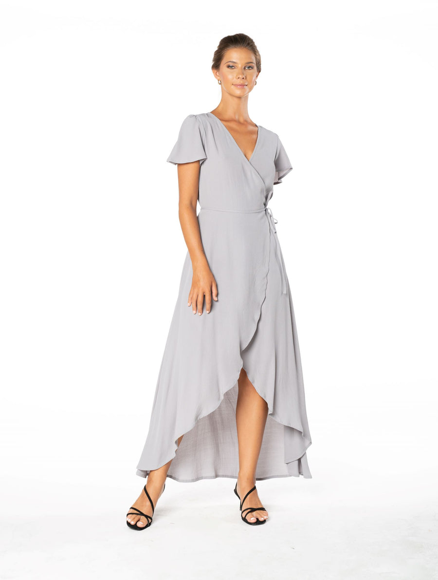 Sunset Wrap Dress - Appaloosa Grey