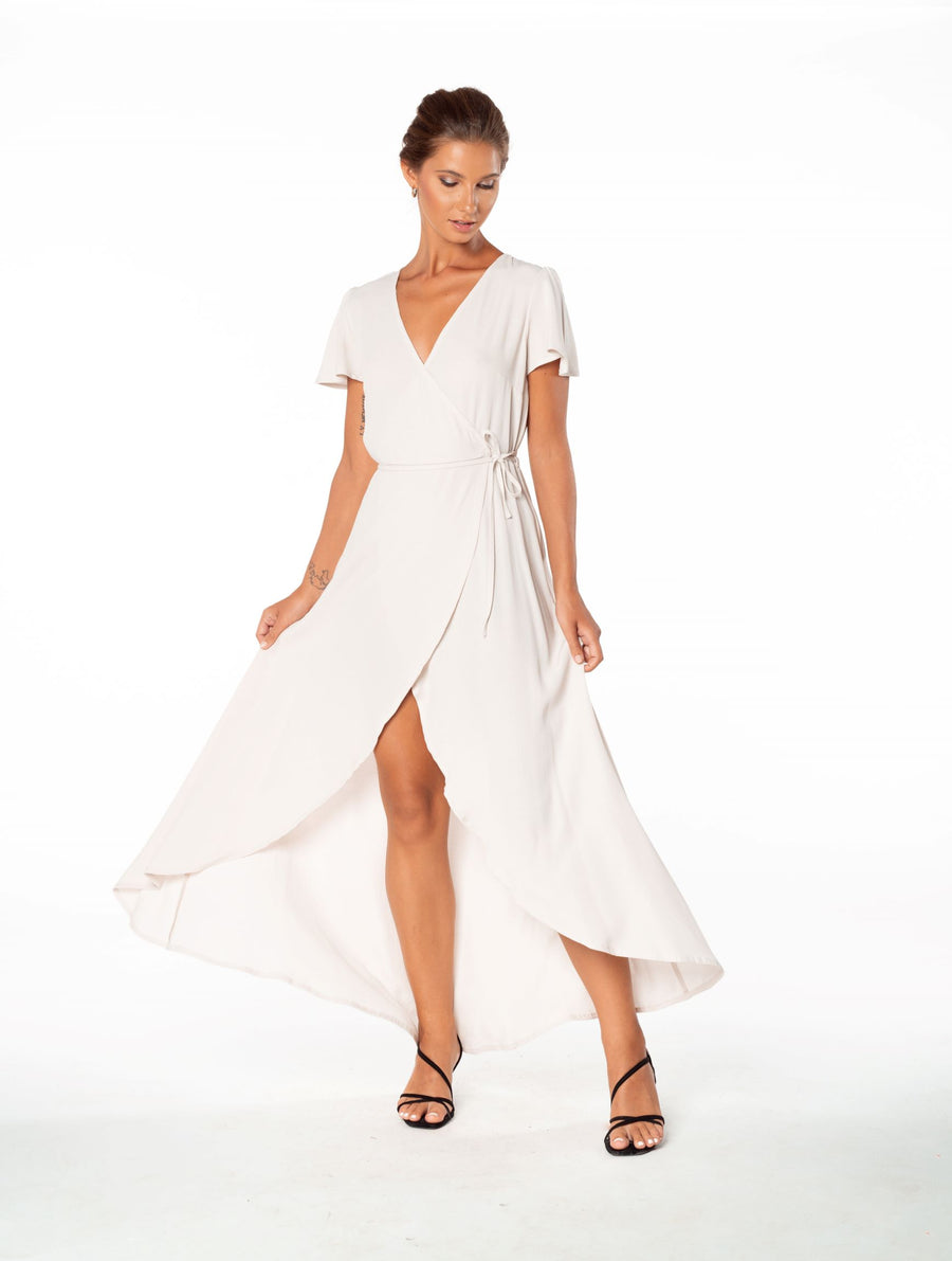 Sunset Wrap Dress - Resolution