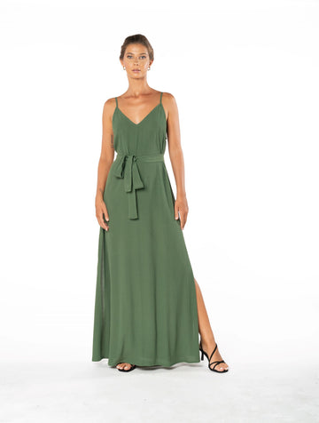 Roxanne Dress - Olive Green