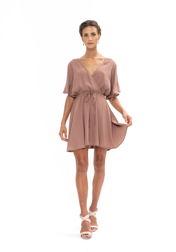 All That She Wants Dress - Ibiza Brown