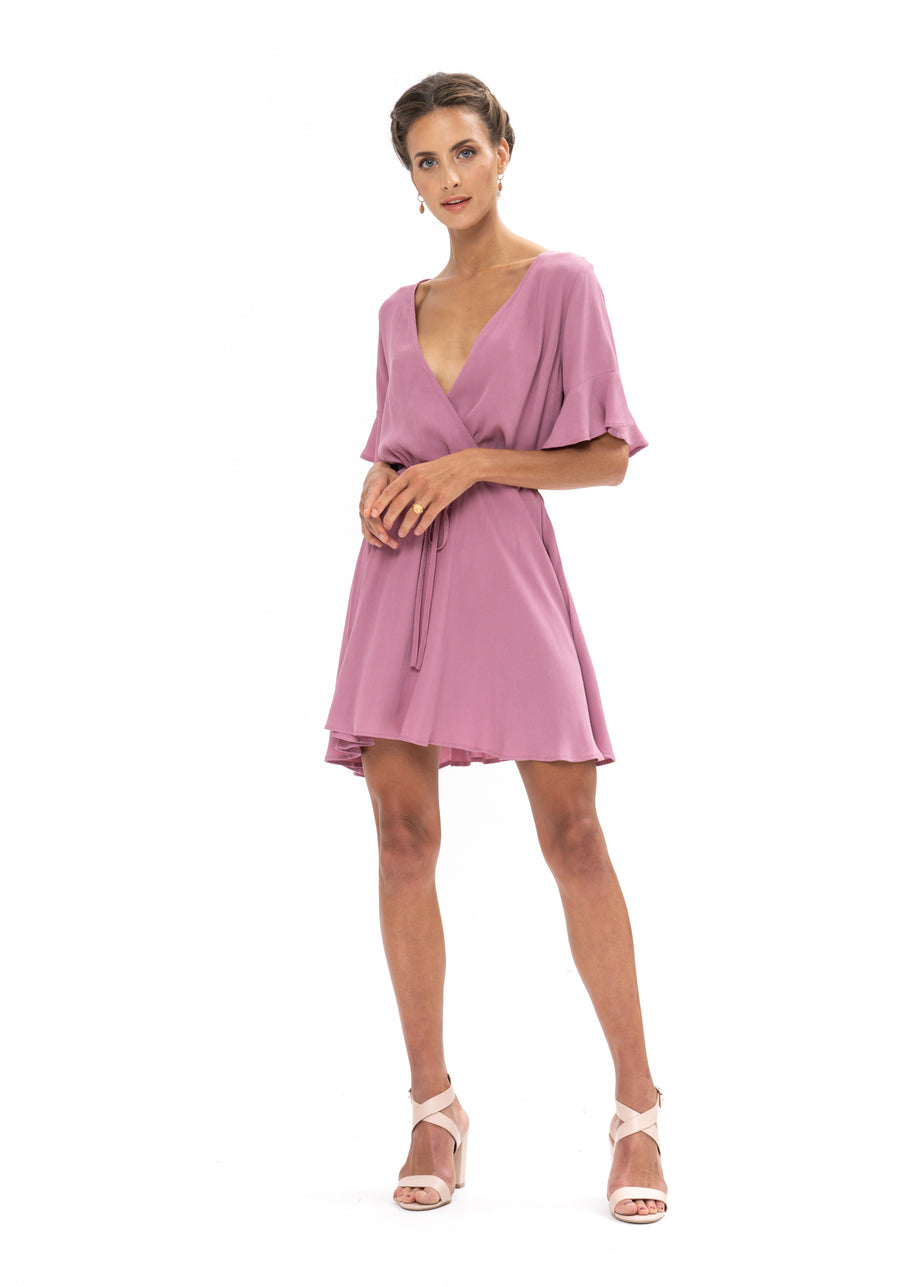 All That She Wants Dress - Purple Blush