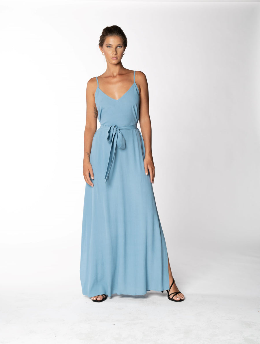 Roxanne Dress - Blue Floyd