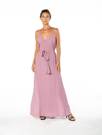 Roxanne Dress - Purple Blush