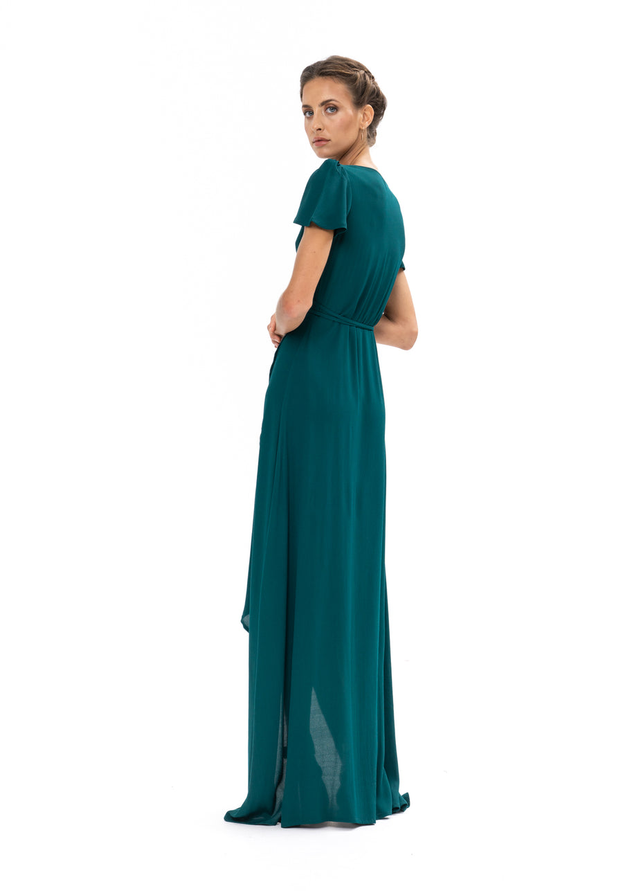 Sunrise Maxi Dress - Emerald Green