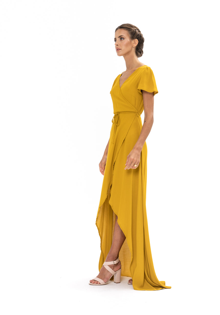 Sunrise Maxi Dress - Gold