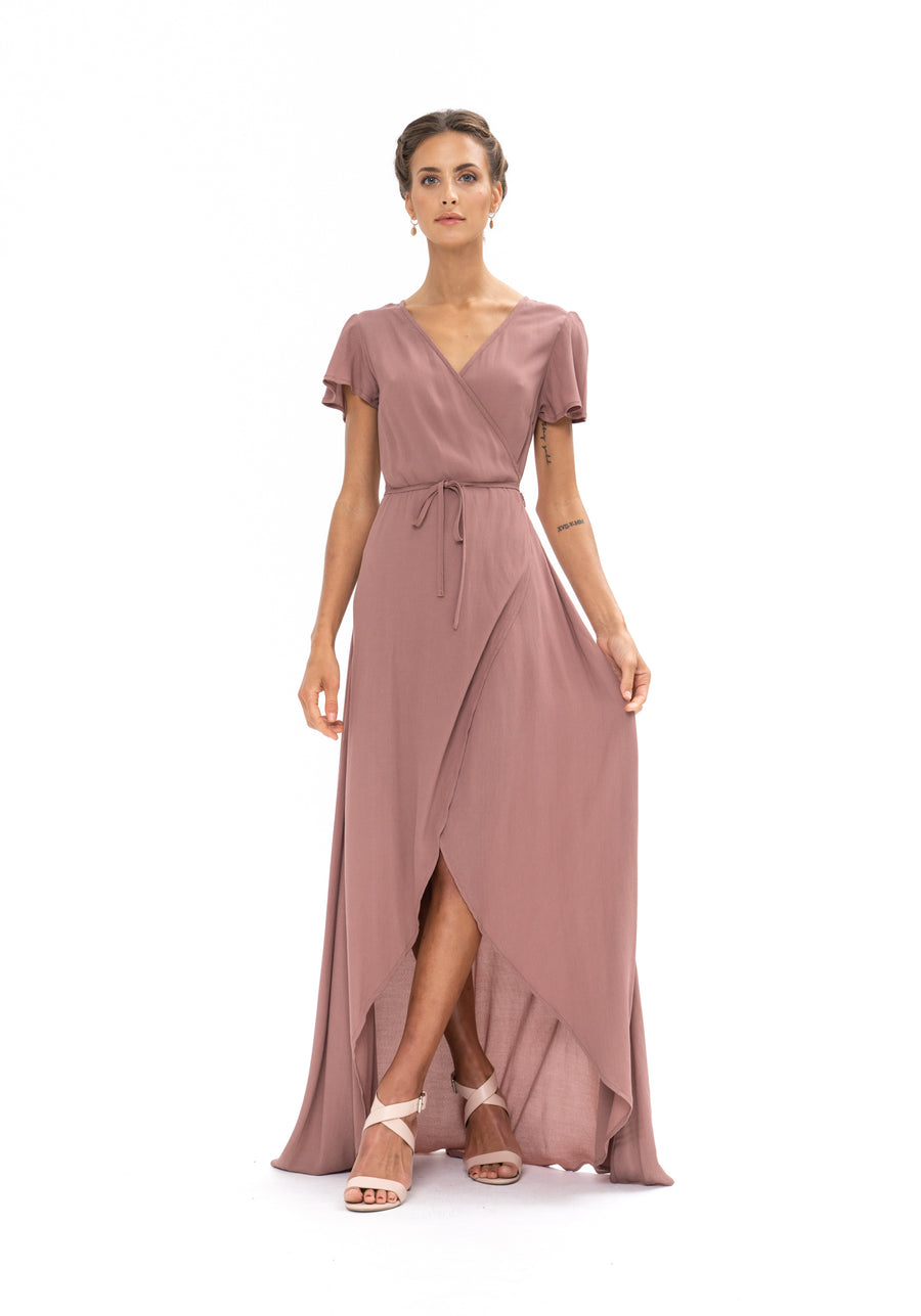 Sunrise Maxi Dress - Ibiza Brown