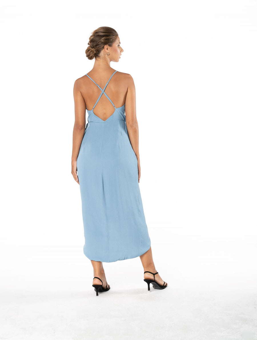 Blaze Of Passion Dress - Blue Floyd