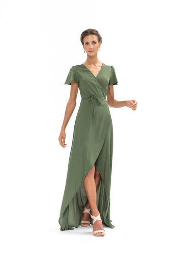 Sunrise Maxi Dress - Olive Green