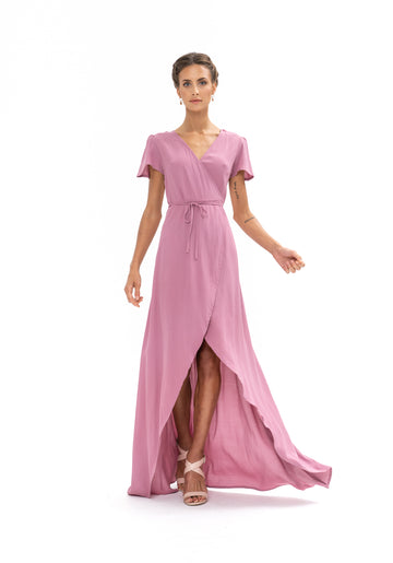 Sunrise Maxi Dress - Purple Blush