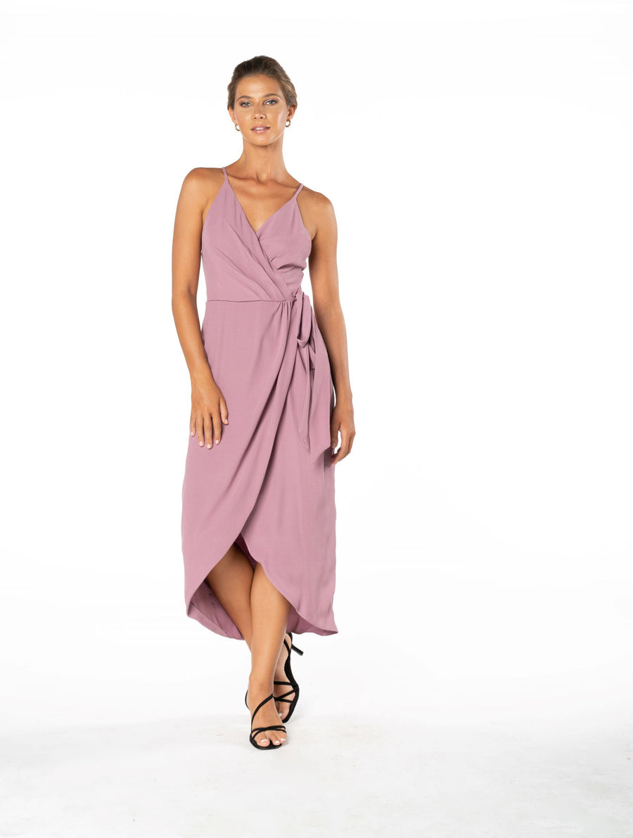 Blaze Of Passion Dress - Purple Blush