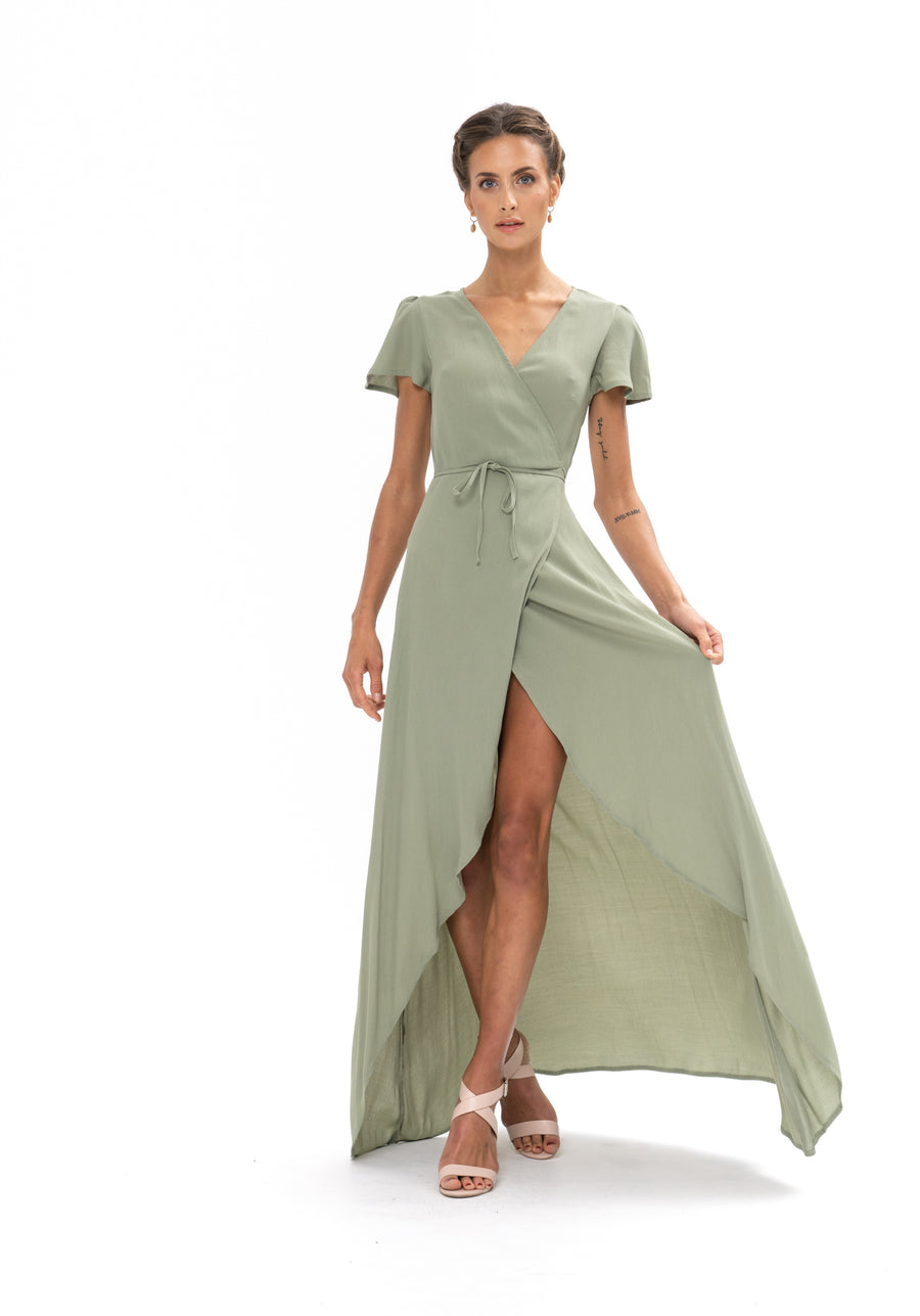 Sunrise Maxi Dress - Sage Craft Green