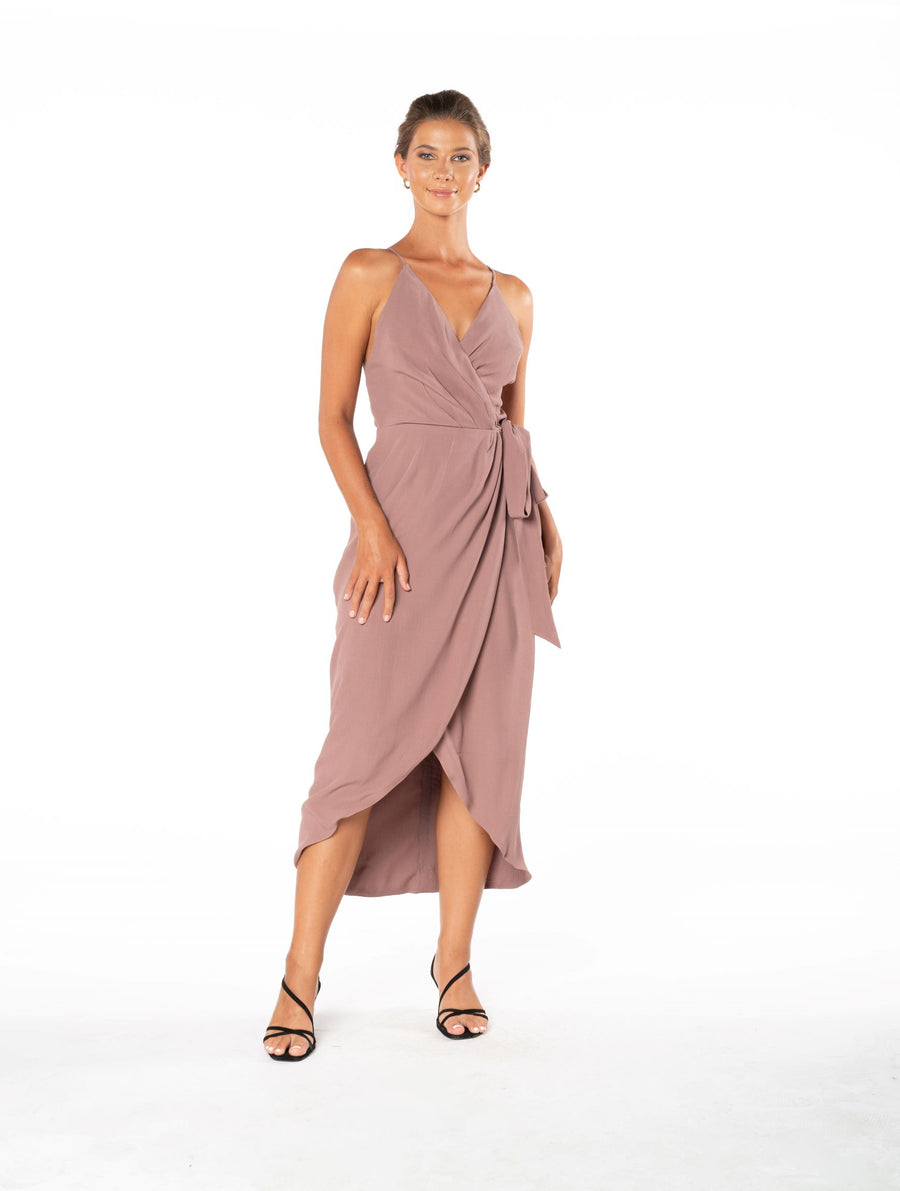 Blaze Of Passion Dress - Ibiza Brown