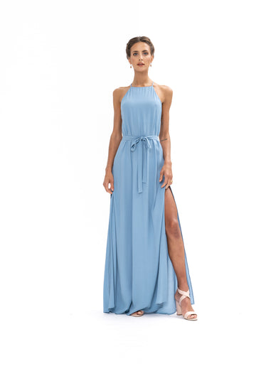 Marc Maxi Dress - Blue Floyd