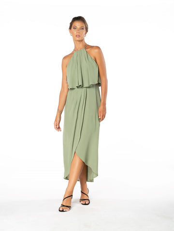 Lasting Love Dress - Sage Craft Green