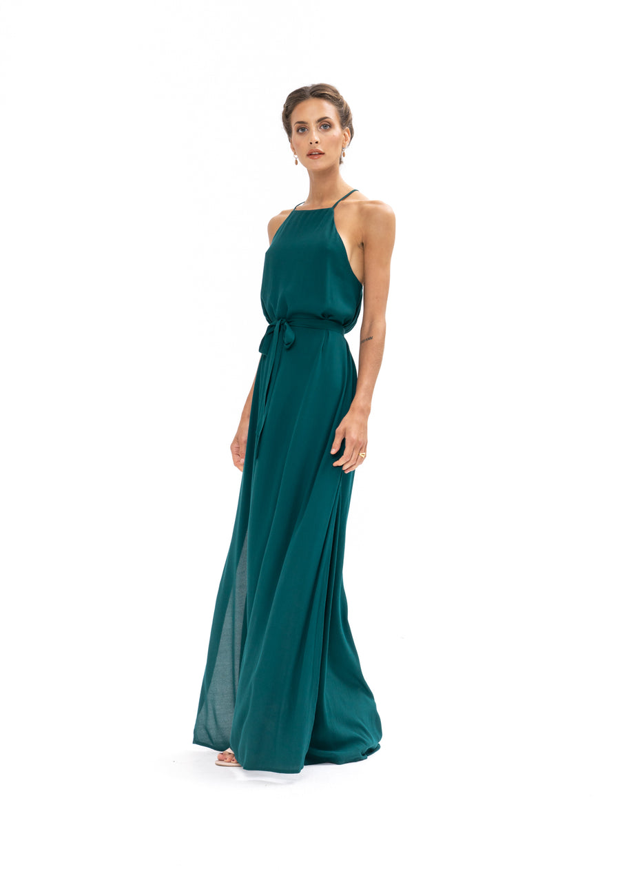Marc Maxi Dress - Emerald Green