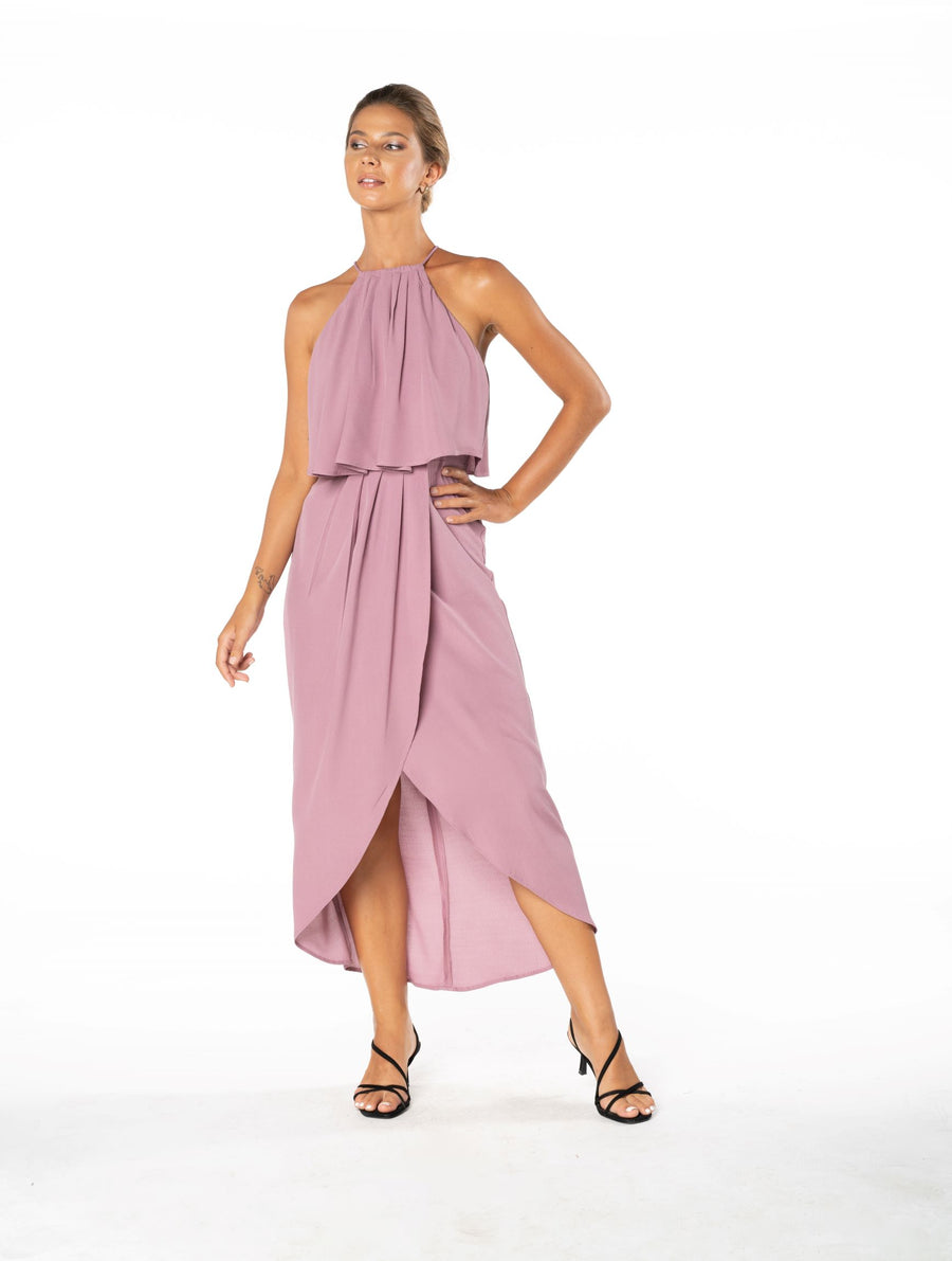 Lasting Love Dress - Purple Blush