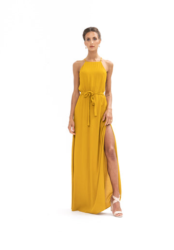 Marc Maxi Dress - Gold
