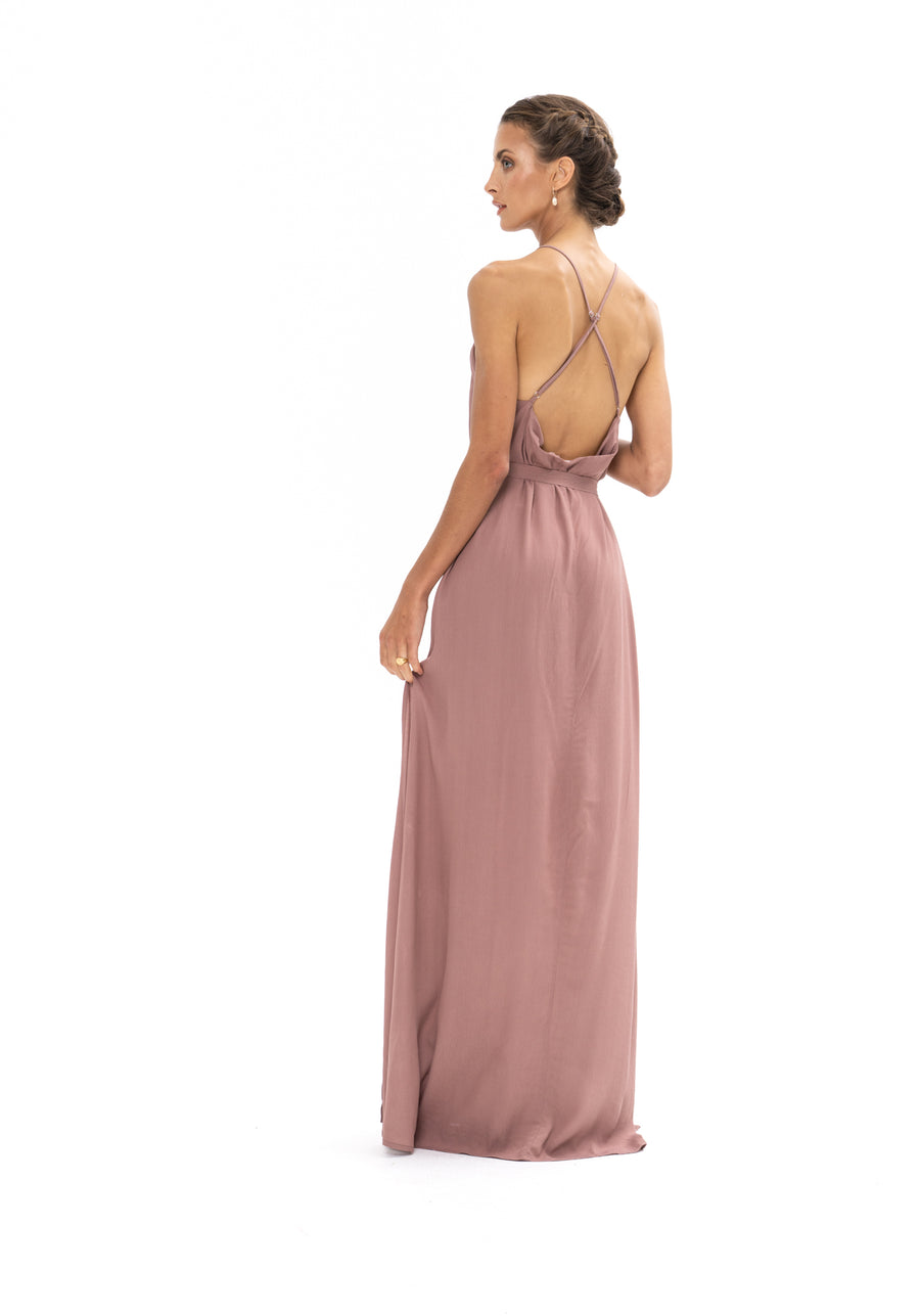 Marc Maxi Dress - Ibiza Brown