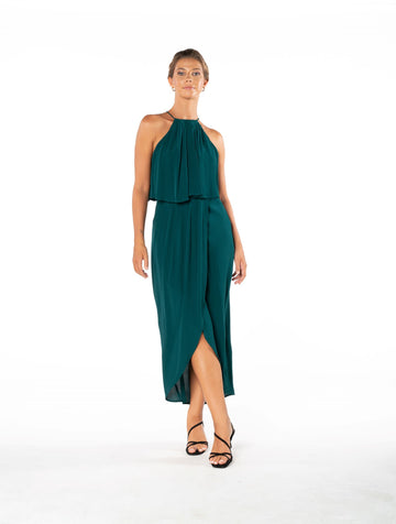 Lasting Love Dress - Emerald Green