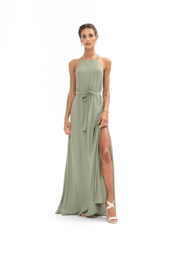 Marc Maxi Dress - Sage Craft Green