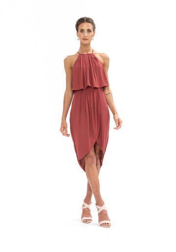 Call Me Dress - Dusky Plum