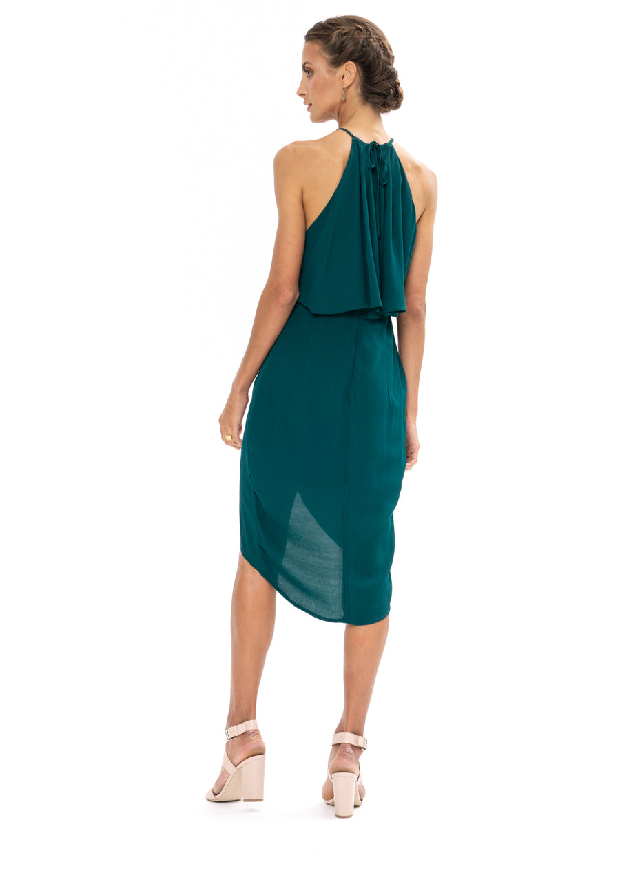 Call Me Dress - Emerald Green