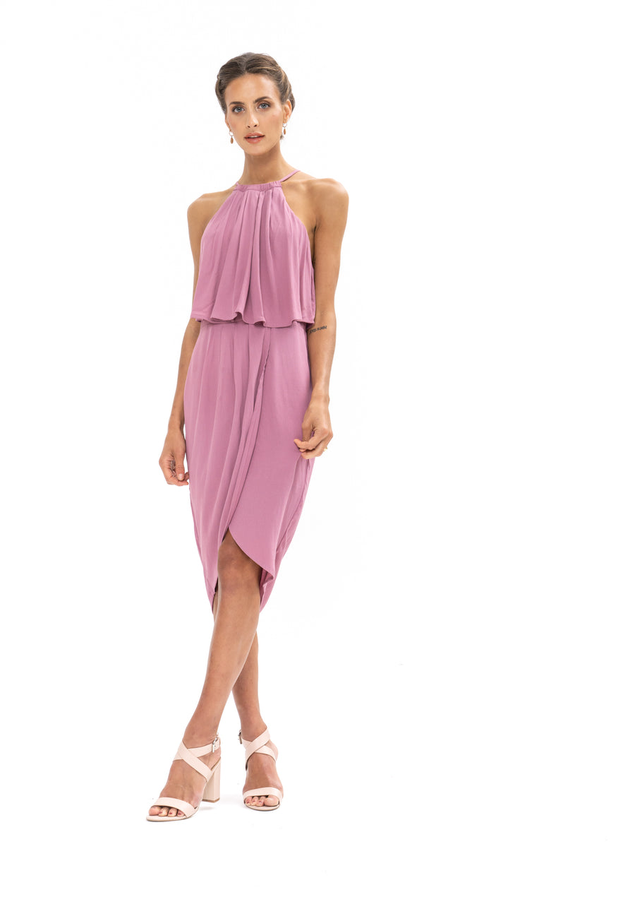 Call Me Dress - Purple Blush