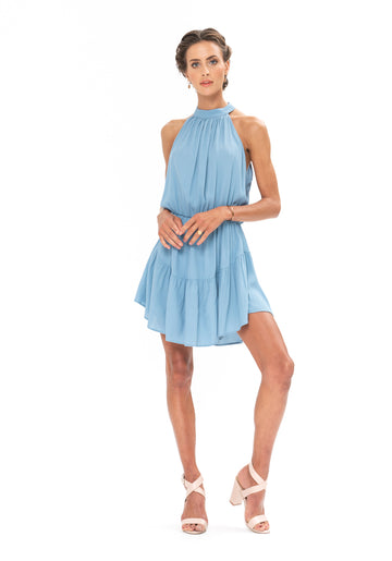 Lucid Dreams Dress - Blue Floyd