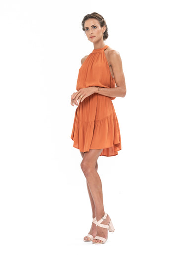 Lucid Dreams Dress - Burnt Orange