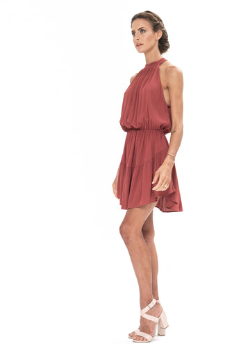Lucid Dreams Dress - Dusky Plum