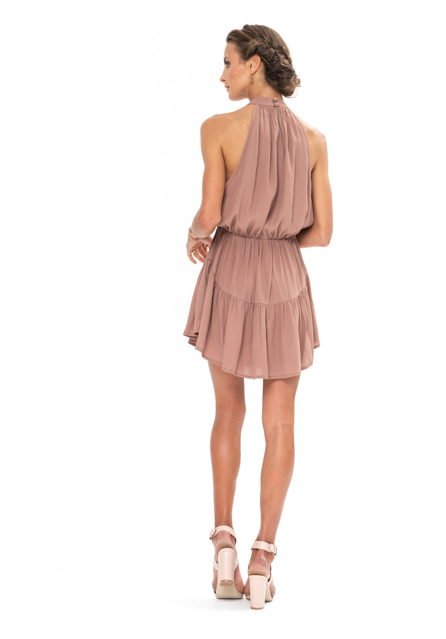 Lucid Dreams Dress - Ibiza Brown