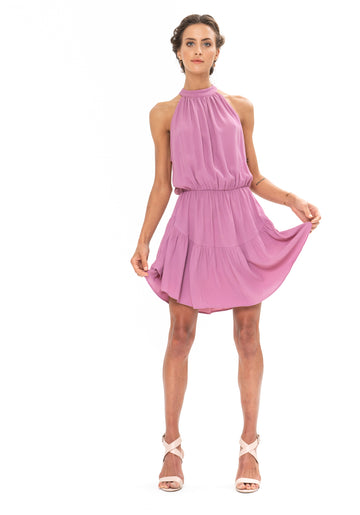 Lucid Dreams Dress - Purple Blush