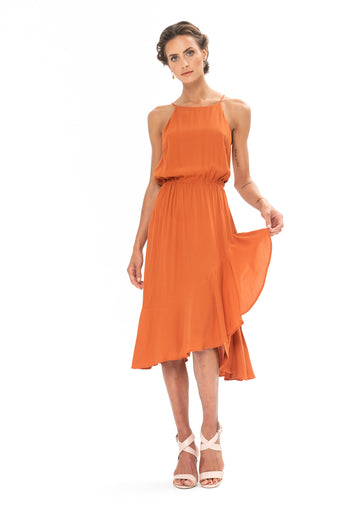 All That Matters Dress - Burnt Orange