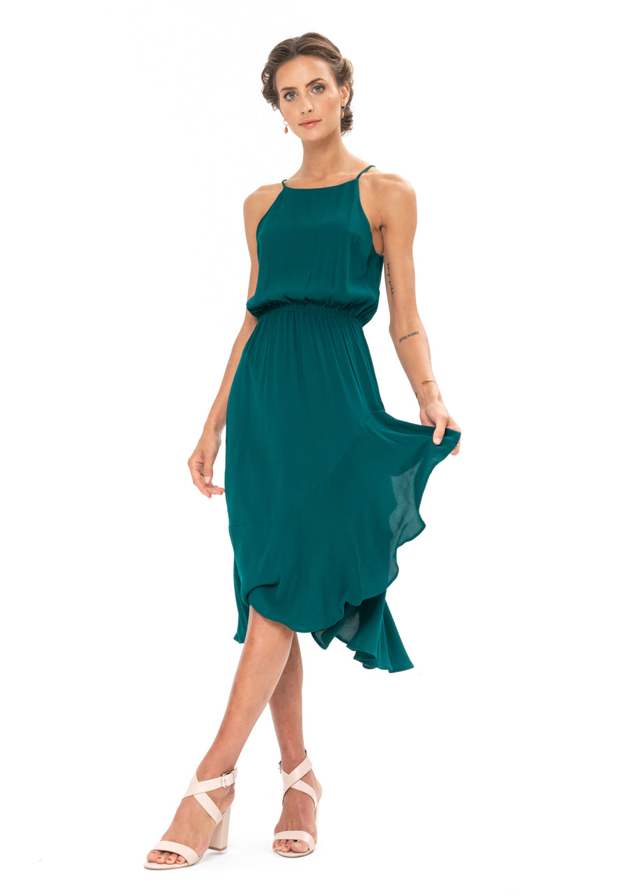 All That Matters Dress - Emerald Green