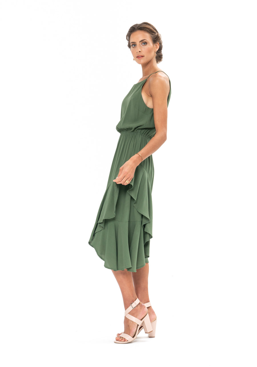 All That Matters Dress - Olive Green