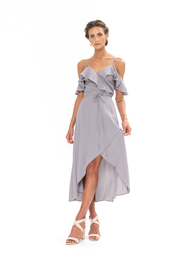 Money Never Lies Dress - Appaloosa Grey