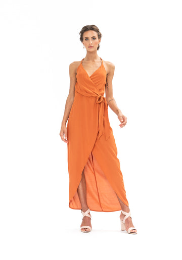Kate Dress - Burnt Orange