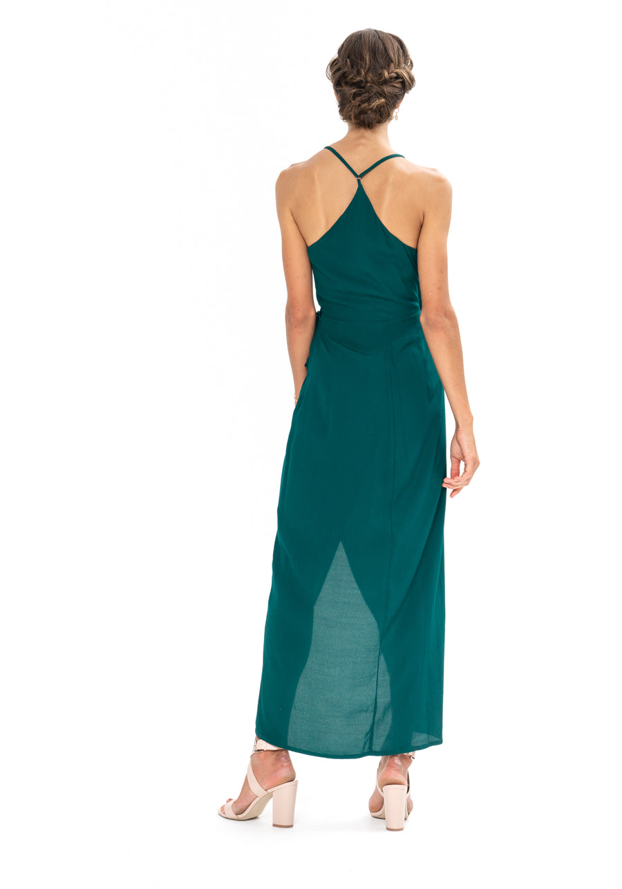 Kate Dress - Emerald Green