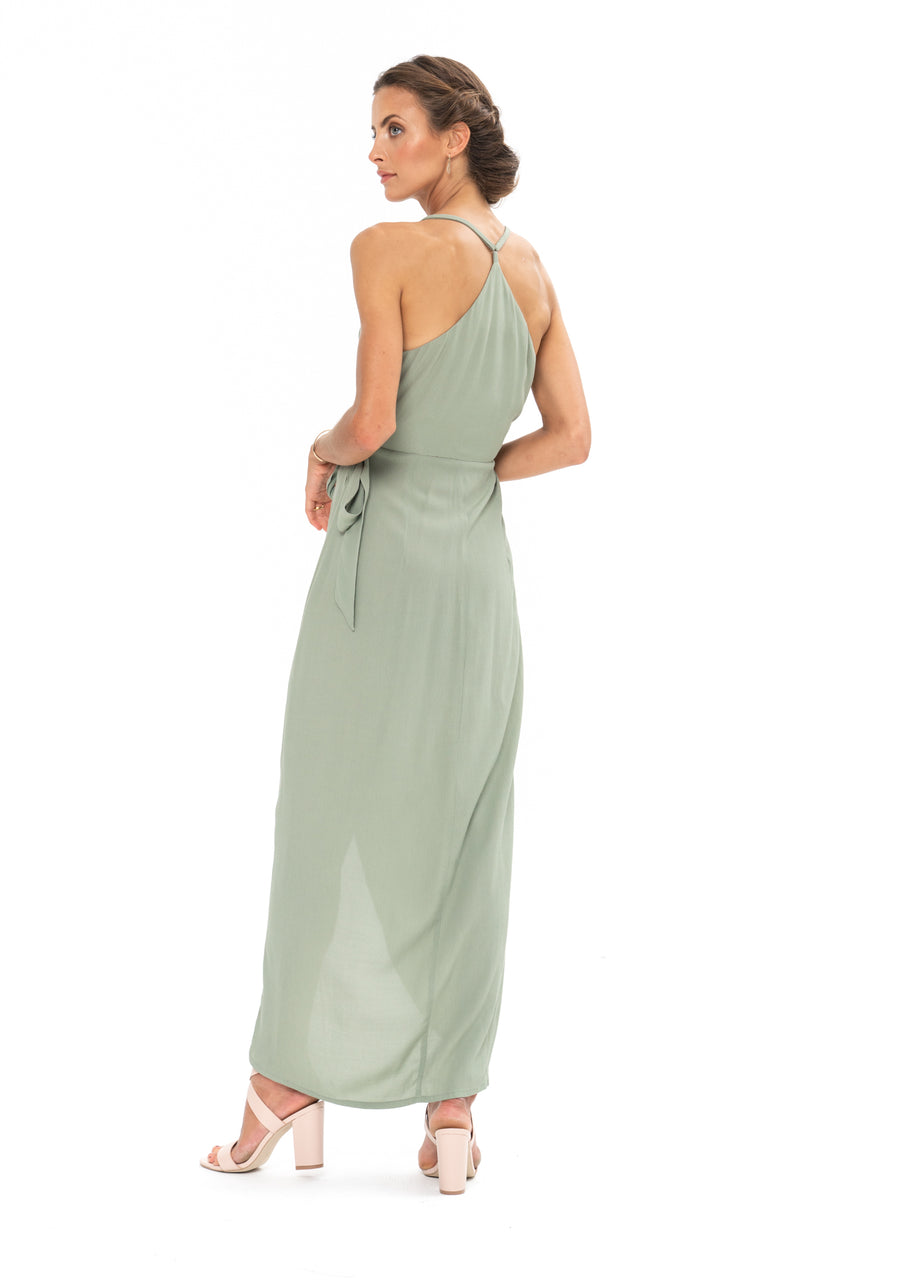 Kate Dress - Sage Craft Green
