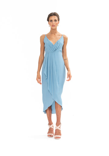Cleo Dress - Blue Floyd