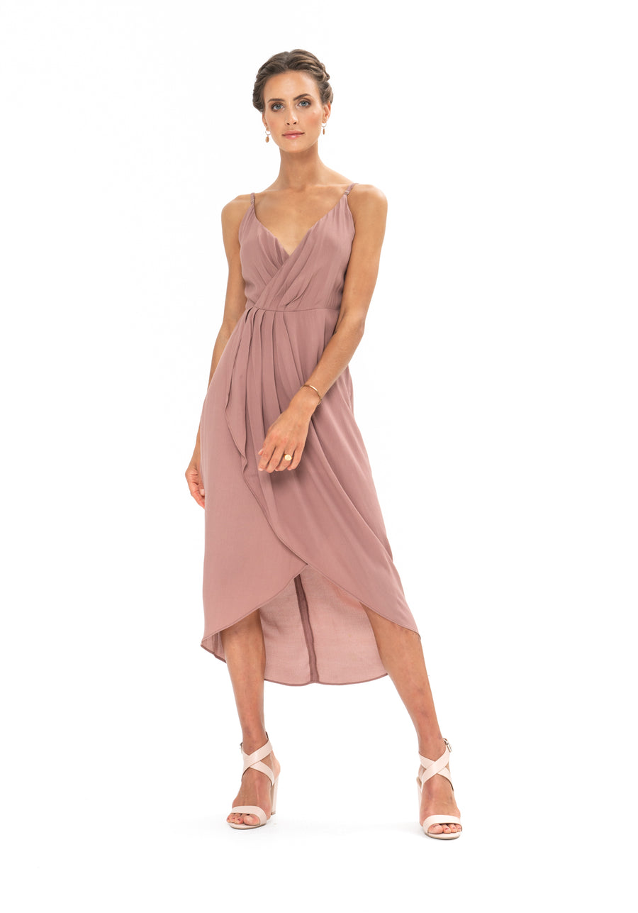 Cleo Dress - Ibiza Brown