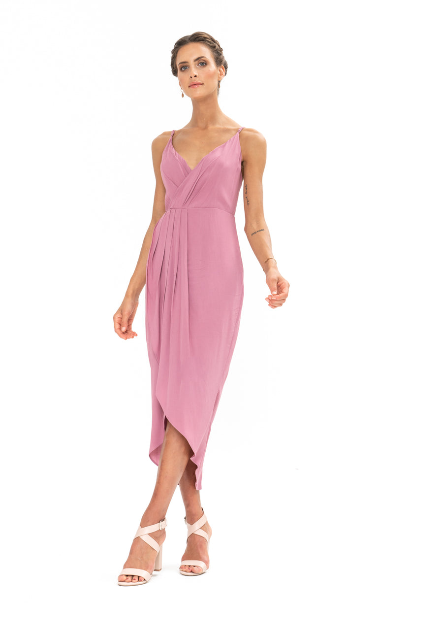 Cleo Dress - Purple Blush