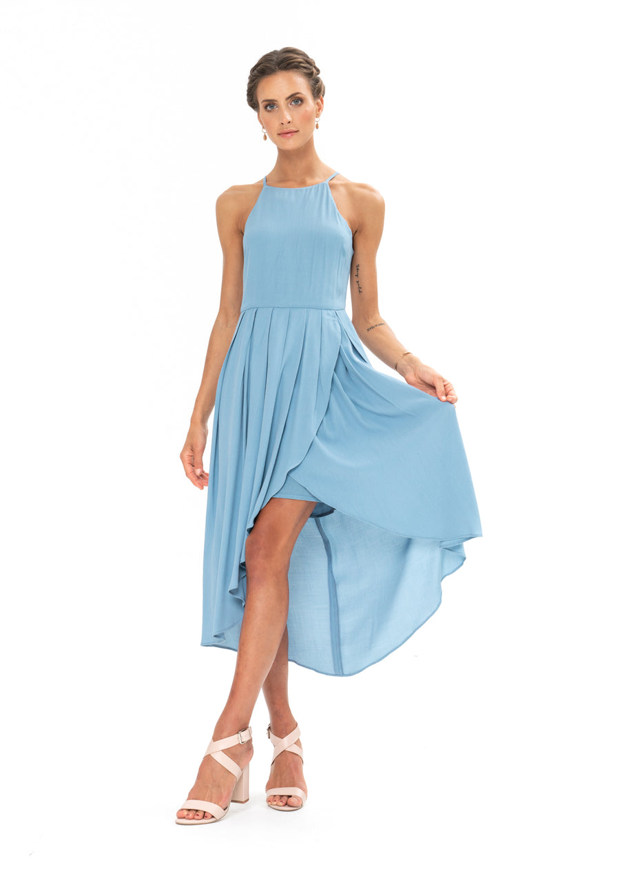 Brunch Dress - Blue Floyd